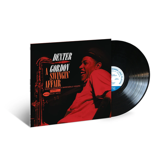 Dexter Gordon: A Swingin' Affair LP (Blue Note 80 Vinyl Edition)