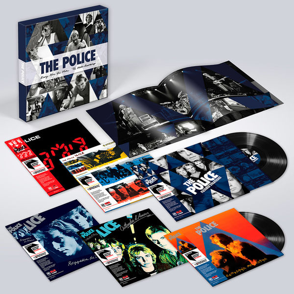The Police: Every Move You Make: The Studio Recordings Six LP Box Set