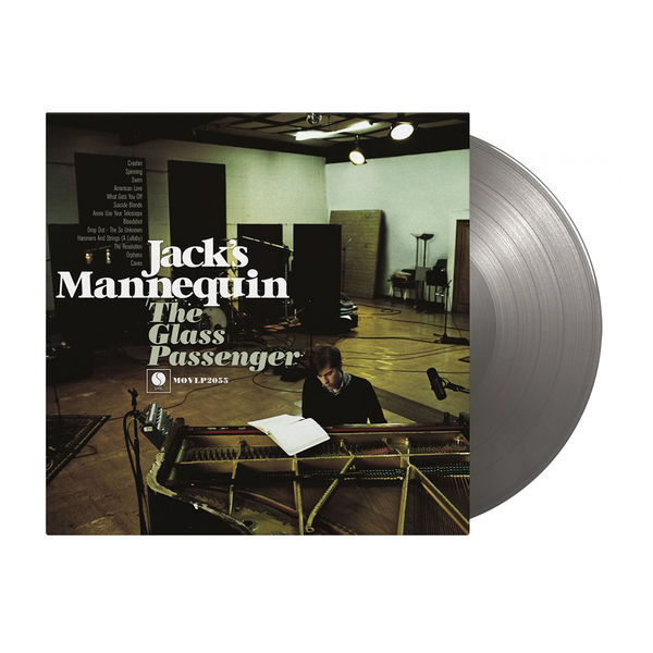 Jack's Mannequin: The Glass Passenger: Limited Edition Silver Vinyl
