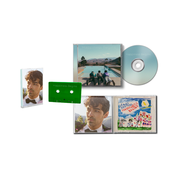 Jonas Brothers: Joe CD + Cassette Bundle