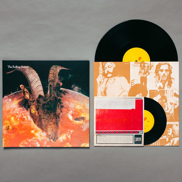 The Rolling Stones: GOATS HEAD SOUP 2020 - LIMITED EDITION ALTERNATIVE SLEEVE 180G VINYL + BONUS ETCHED 7""