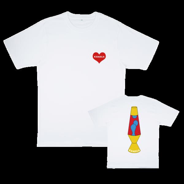 Kawala: Embroidered Heart / Lava Lamp T-shirt