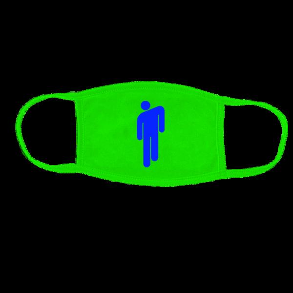 Billie Eilish: Blohsh Neon Green Face Mask – Proceeds Donated