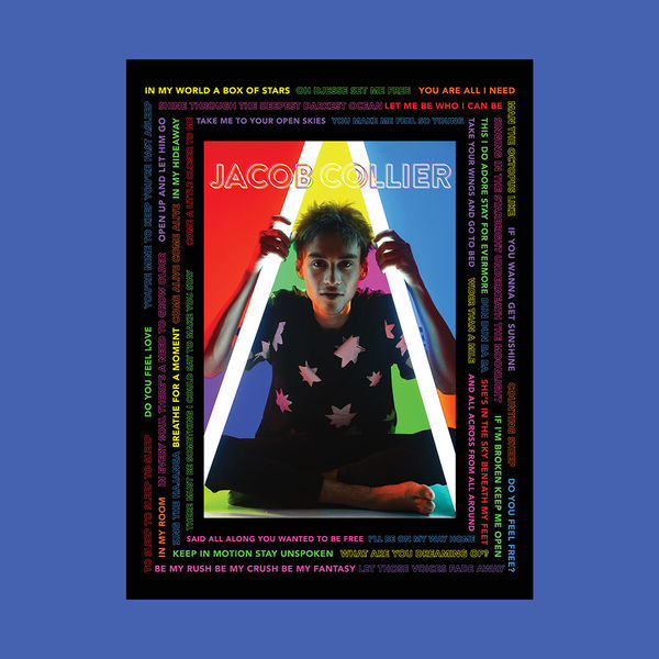 Jacob Collier: Jacob Collier Lyrics Poster - Signed