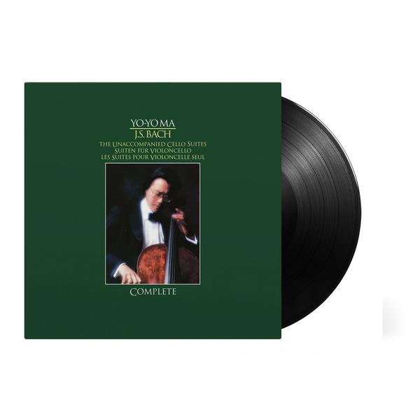 Yo-Yo Ma: Bach Unaccompanied Cello Suites: Limited Edition Triple Vinyl