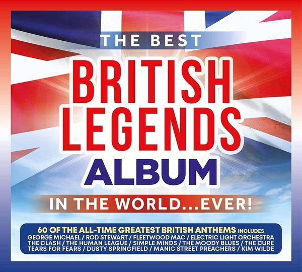 Various Artists: The Best British Legends Album In The World... Ever!