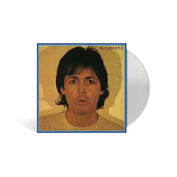 Paul McCartney: McCARTNEY II LIMITED EDITION CLEAR VINYL