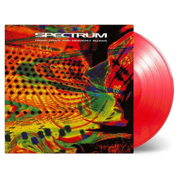 Spectrum: Highs, Lows and Heavenly Blows: Transparent Red Vinyl