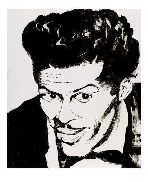 Ronnie Wood: Chuck Art Print