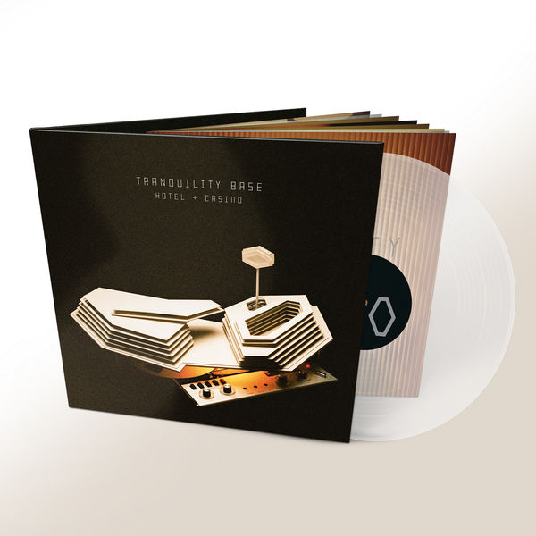 Arctic Monkeys: Tranquility Base Hotel + Casino: Transparent Deluxe Vinyl