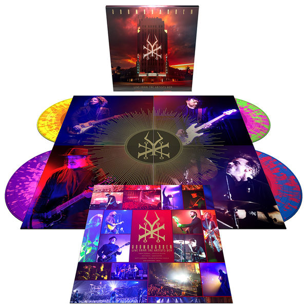 Soundgarden: Live From The Artists Den: Exclusive Quadruple Coloured Vinyl