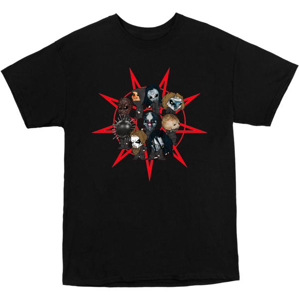 Slipknot: Faces Star Kids T-shirt