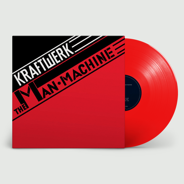 Kraftwerk: The Man Machine: Limited Edition Translucent Red Vinyl