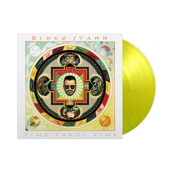 Ringo Starr: Time Takes Time: Limited Edition Yellow & Green Marbled Vinyl