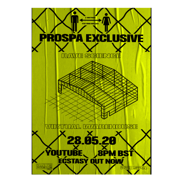 Prospa: Virtual Warehouse Poster - Yellow
