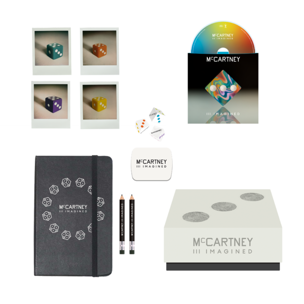 Paul McCartney: Paul McCartney - McCartney III Imagined - Limited Edition Dice, Notebook & CD Box Set