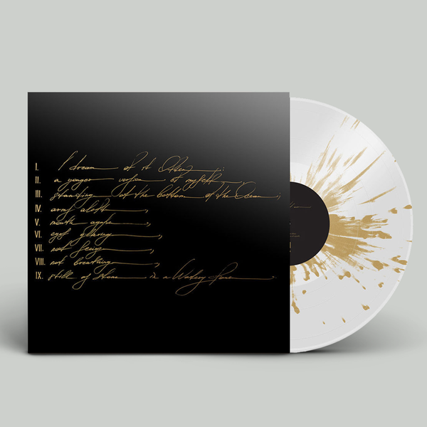 Telefon Tel Aviv: Dreams Are Not Enough: Limited Edition Clear + Gold Splatter Vinyl