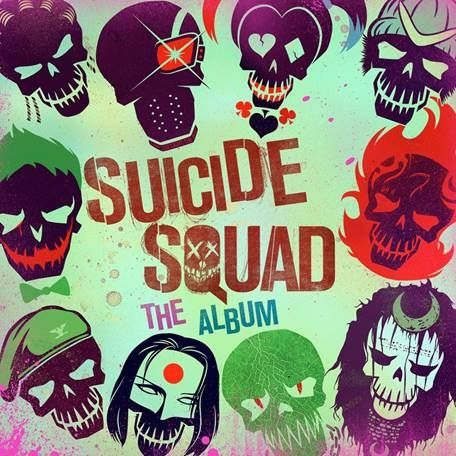 Various Artists: Suicide Squad: The Album (Etched Vinyl)