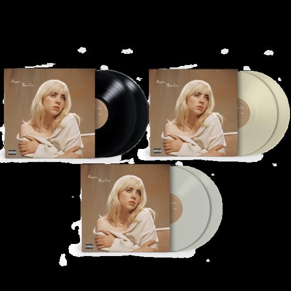 Billie Eilish: 'Happier Than Ever' Exclusive Vinyl Bundle
