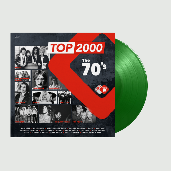Various Artists: Top 2000 - The 70s Radio 2: Limited Edition Green Vinyl