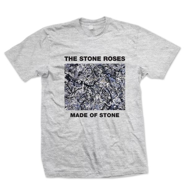 The Stone Roses: Made of Stone Grey T-Shirt