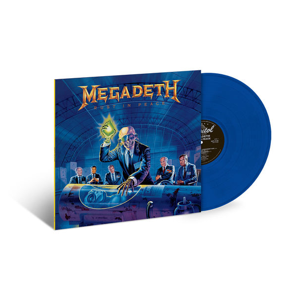 Megadeth: Rust In Peace: Exclusive Translucent Blue Vinyl