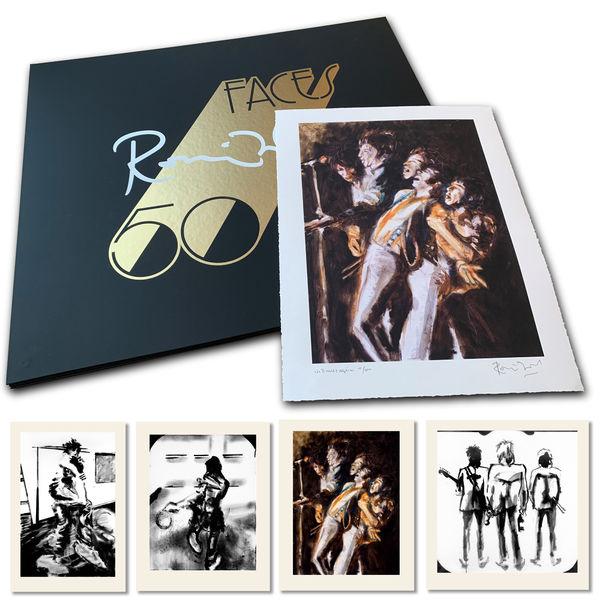 Ronnie Wood: The Faces 50 portfolio