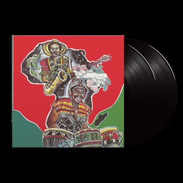 Okyerema Asante : Drum Message: Black Vinyl 2LP