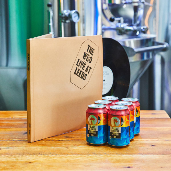 The Who: Live At Leeds Deluxe Vinyl + Island Records Session IPA 6 pack