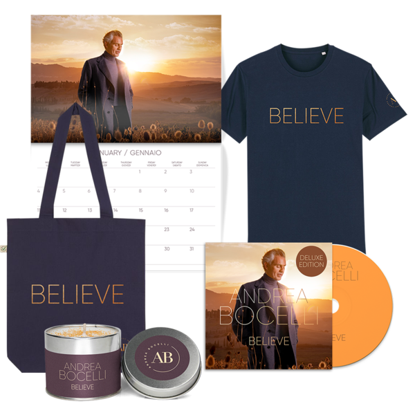 Andrea Bocelli: Believe Deluxe Bundle