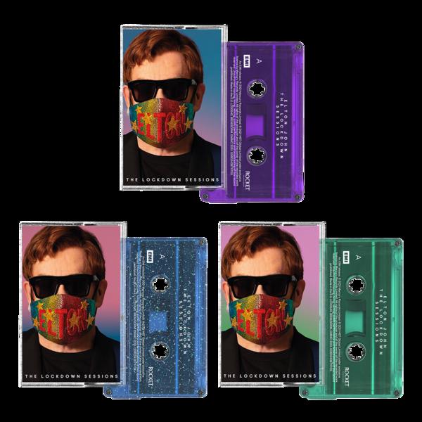 Elton John: The Lockdown Sessions 3 Cassette Bundle