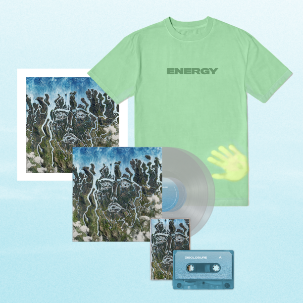 Disclosure: Exclusive Clear LP, Signed Art Card, Cassette + Heat Sensitive Tee