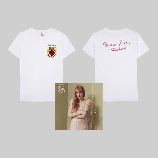 Florence + The Machine: Always Lonely T-Shirt + CD Bundle