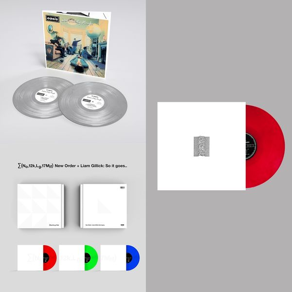Various Artists: The Sound Of Manchester: Oasis, Joy Division & New Order Limited Edition Colour Vinyl Bundle