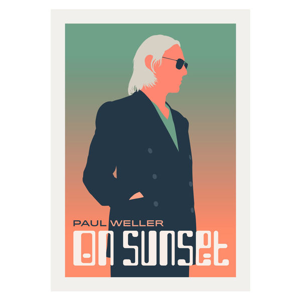 Paul Weller: Graphic Lithograph
