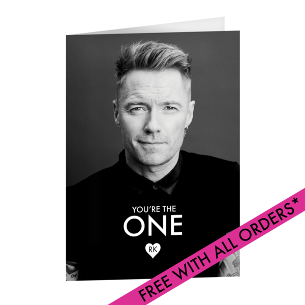 Ronan Keating: You're The One Card