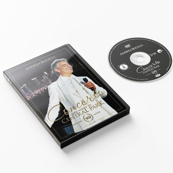 Andrea Bocelli: Concerto: One Night In Central Park - 10th Anniversary Edition DVD