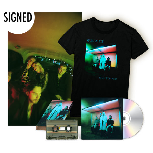 Wolf Alice: Blue Weekend CD & Tee Set - Signed