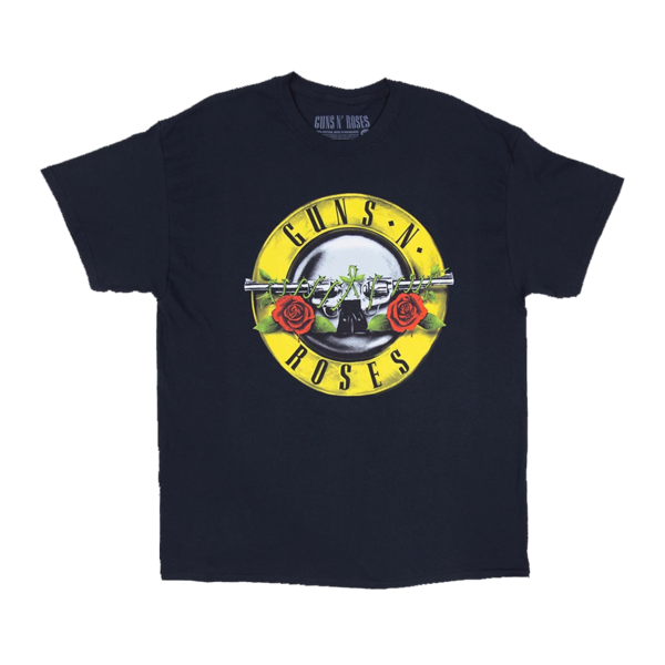 Guns N' Roses: 1987 OG Bullet Seal T Shirt