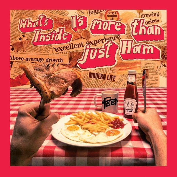 FEET: What's Inside is More Than Just Ham: Black Vinyl