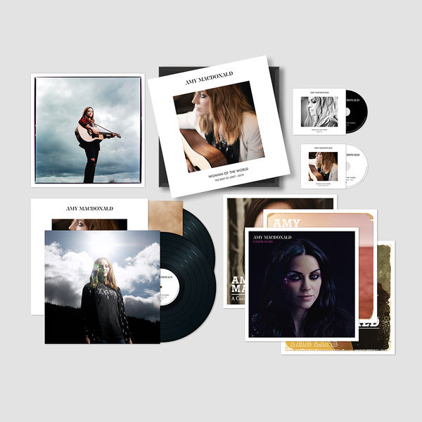 Amy Macdonald: Woman Of The World: The Best Of 2007 – 2018 Signed Super Deluxe Boxset