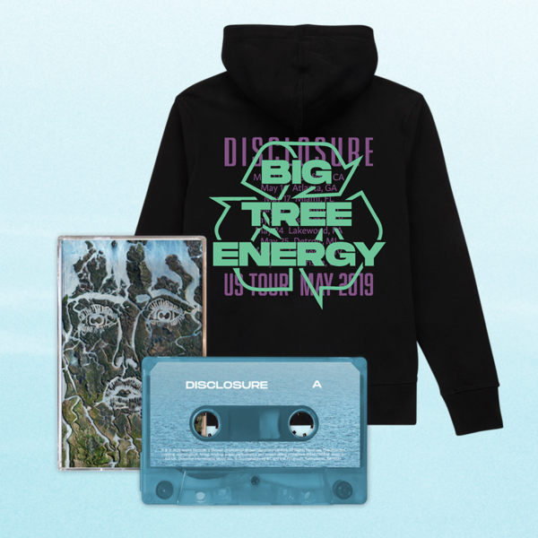 Disclosure: Cassette + Recycled Hoodie