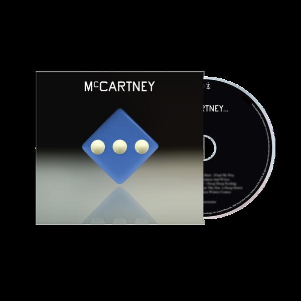 Paul McCartney: McCartney III - Deluxe Edition Blue Cover CD