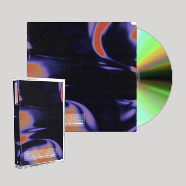 Scarlxrd: IMMXRTALISATIXN: SIGNED CD + CASSETTE