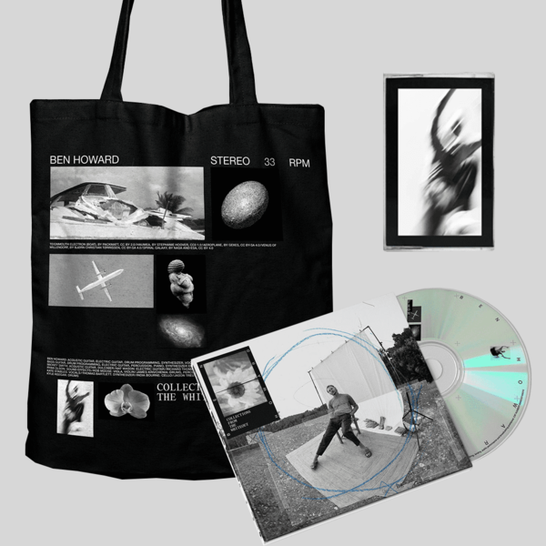 Ben Howard: COLLECTIONS FROM THE WHITEOUT: CD, EXCLUSIVE BLACK CASSETTE + TOTE BAG (BLACK)