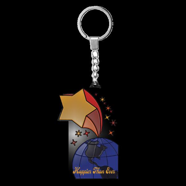 Billie Eilish: Shooting Star Keychain