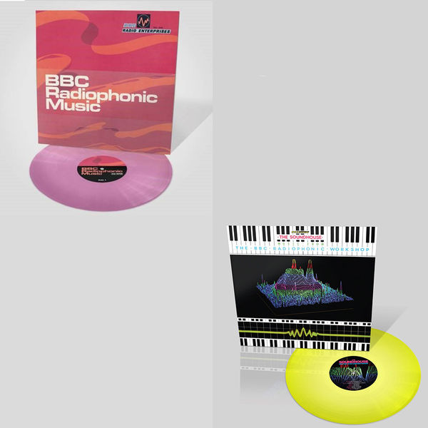 The BBC Radiophonic Workshop: The Sound Of The BBC Radiophonic Workshop Limited Edition Colour Vinyl Bundle