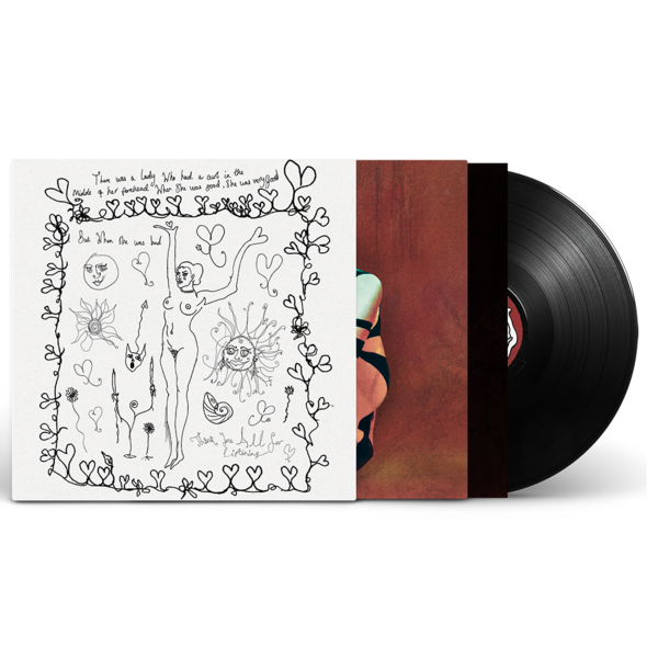Celeste: Not Your Muse Vinyl & Hand Drawn Vinyl Sleeve
