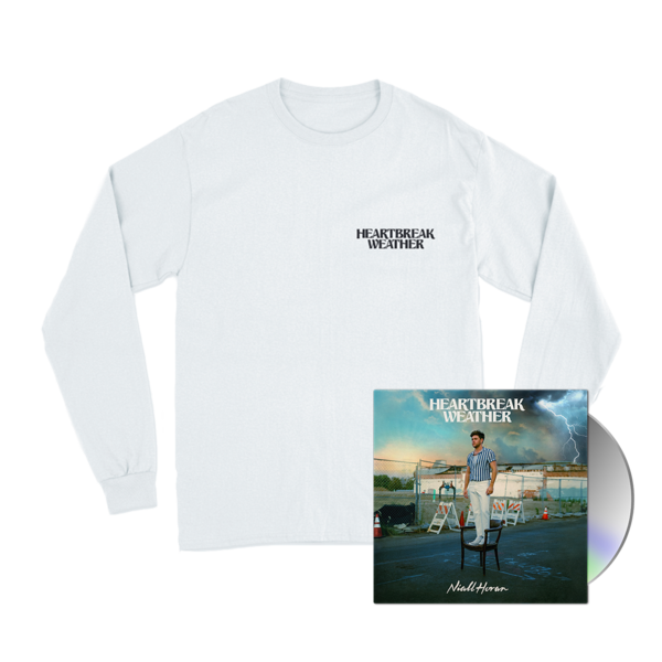 Niall Horan: CD & HEARTBREAK WEATHER WHITE LONGSLEEVE