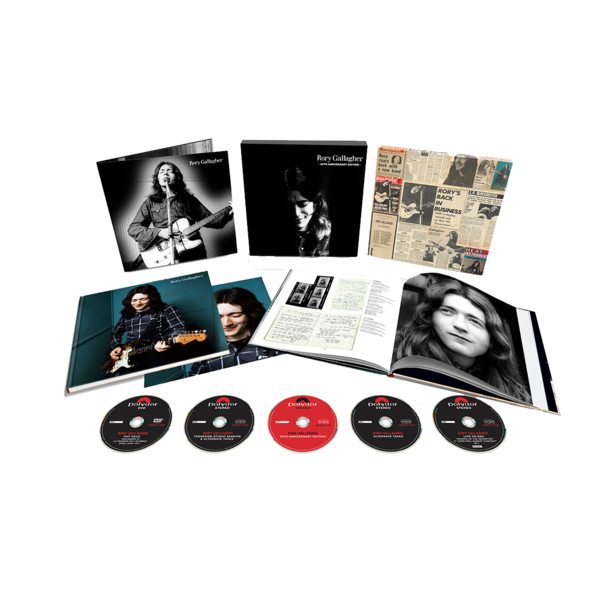 Rory Gallagher: NEW Rory Gallagher (50th Anniversary Edition): 4CD